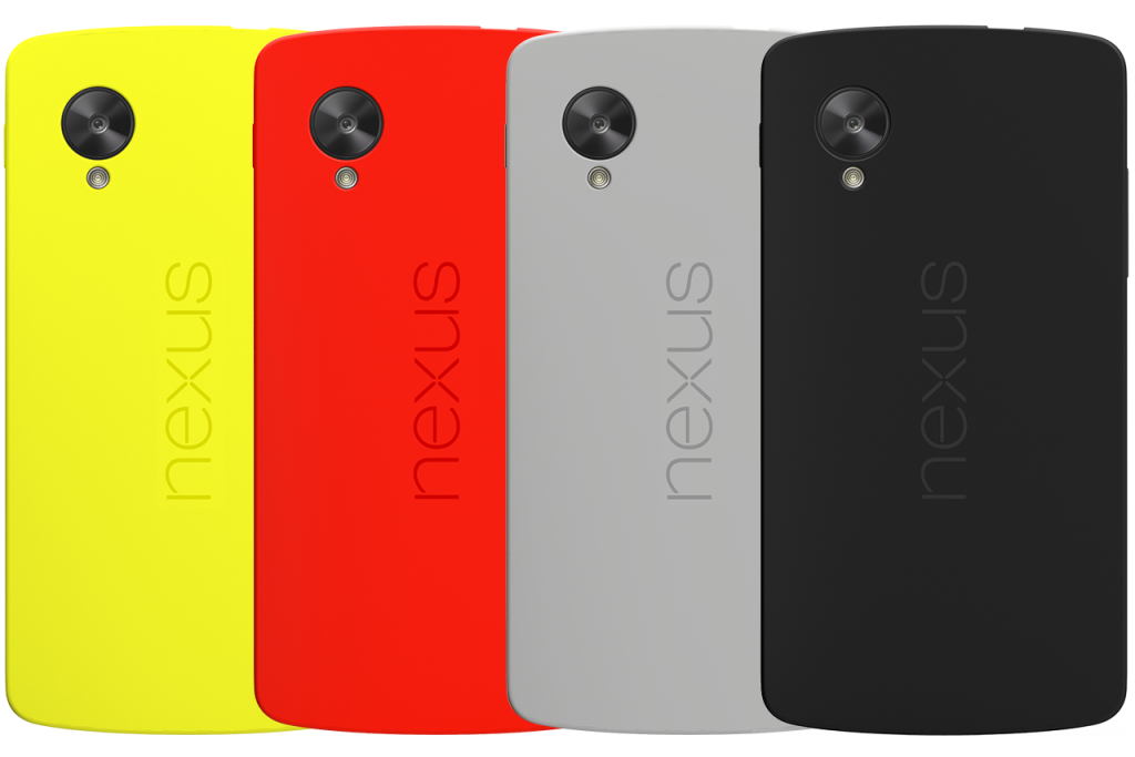 Nexus 5 Bumper Colours Already Include Yellow