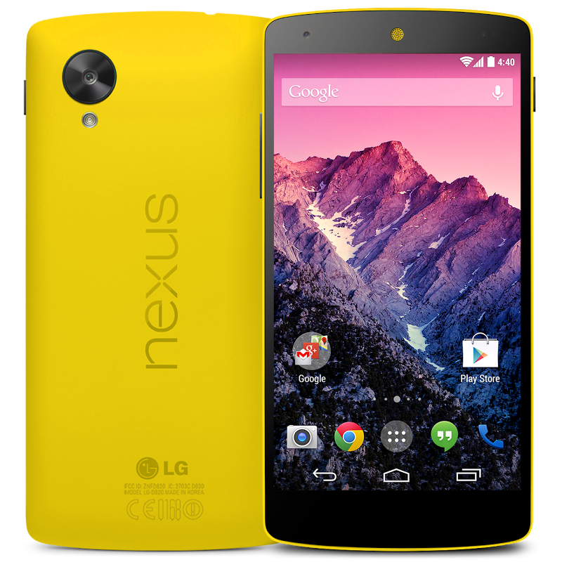 Yellow Nexus 5