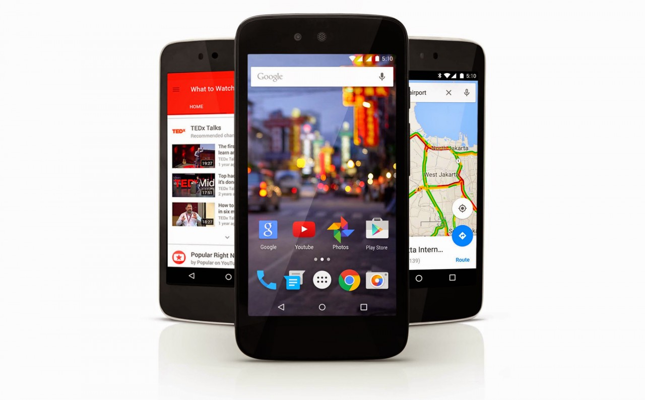 Android One Indonesian Launch devices with 5.1 Lollipop