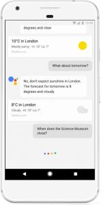 Google Assistant Pixel