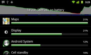 Android Battery Usage