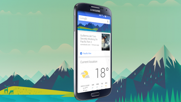 Google Now on Galaxy S4