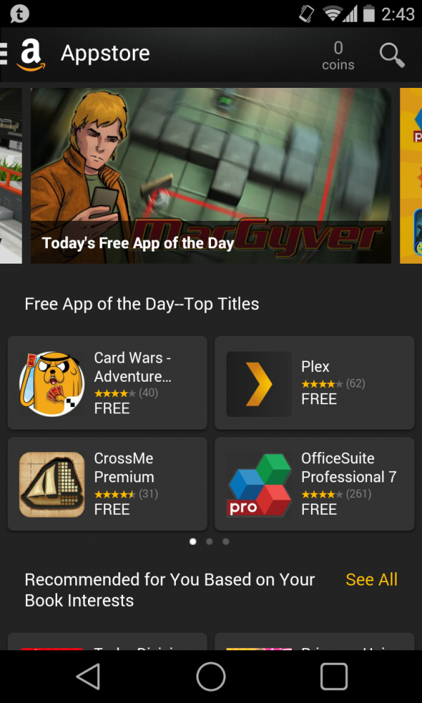 Amazon App Store Screenshot