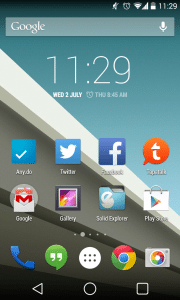Android L Style Launcher With XGELS
