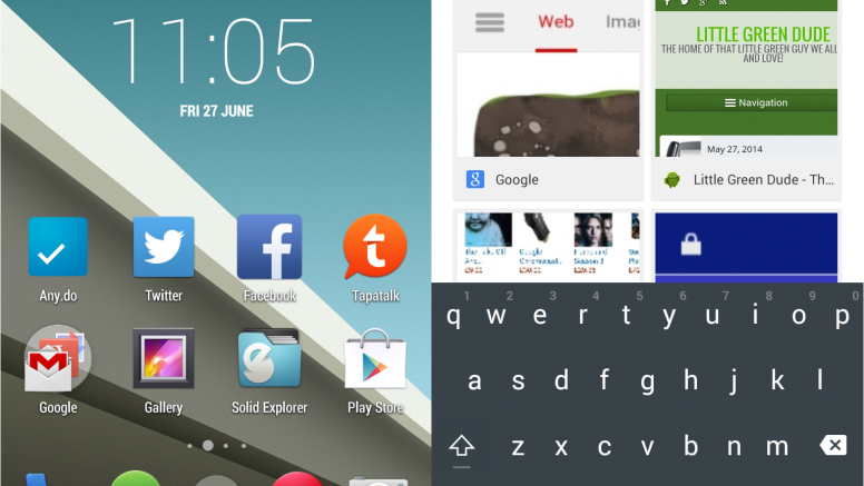Make Your Device Look Like It's Running Android L