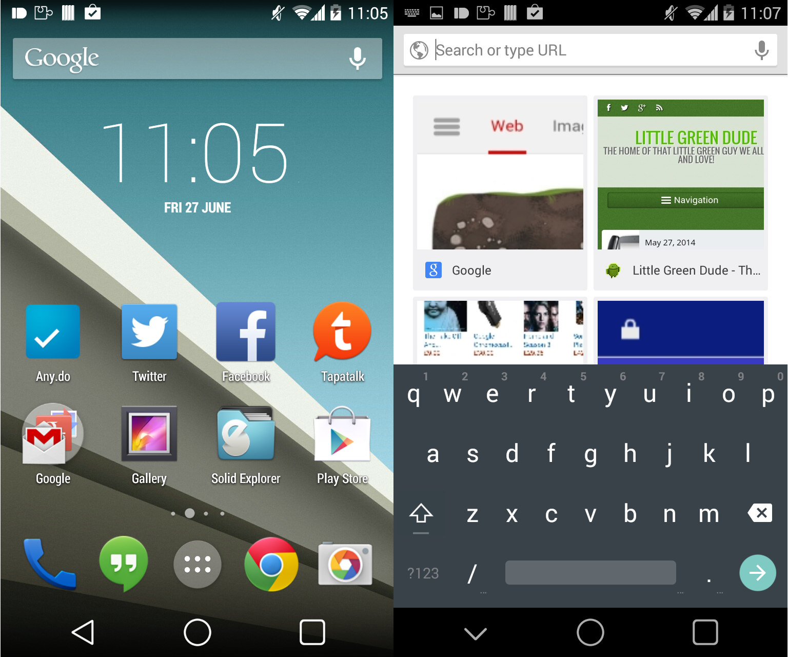Make Your Device Look Like Android L - Little Green Dude
