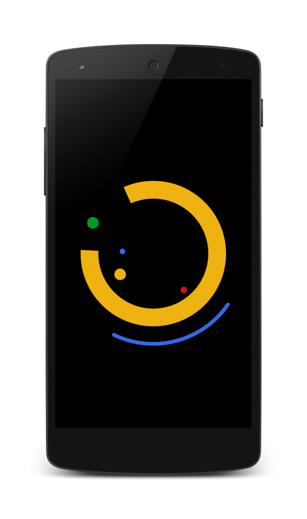 Android Wear boot animation preview (static)