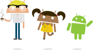 Androidify llustration