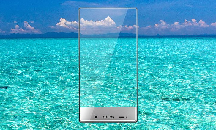Sharp Aquos Crystal Sea Promo