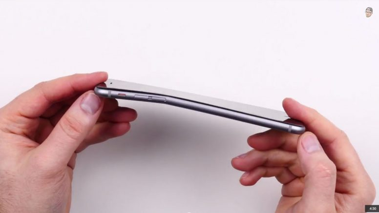 iPhone 6 Plus Bent
