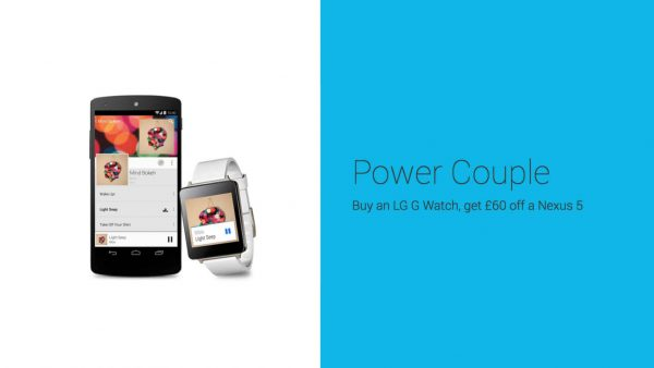 Nexus 5 & LG G Watch
