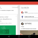 Google+ Material Design Update Screenshot