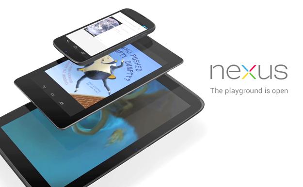 Nexus 4, 7 & 10