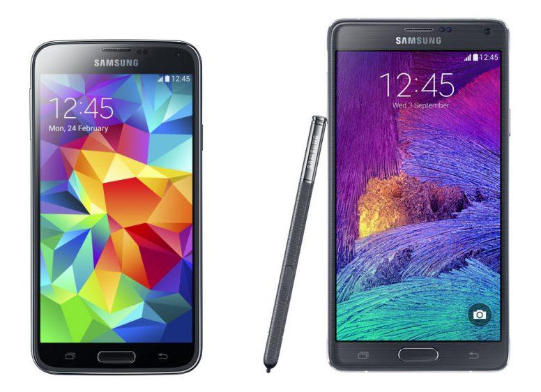 Samsung Galaxy S5 & Note 4