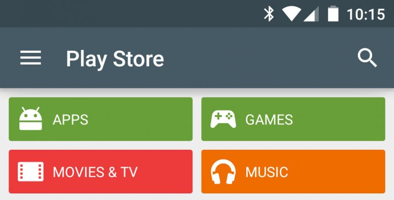 Current / Old Google Play Search