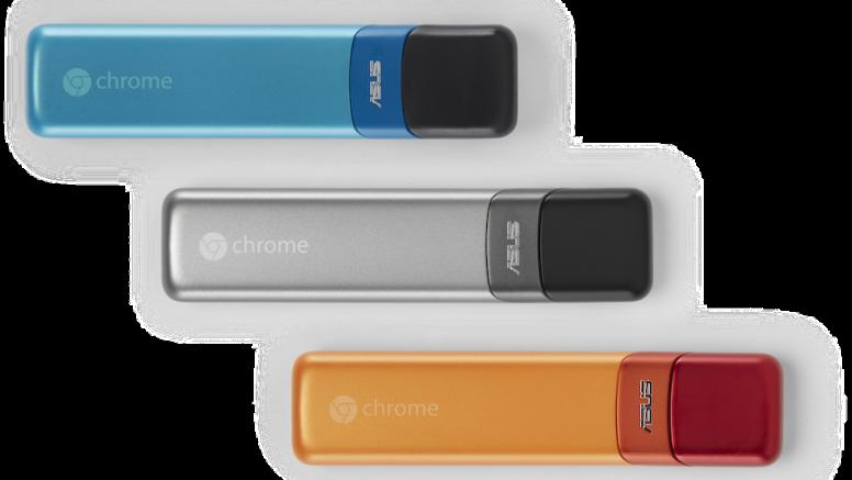 "Google Announce New Chromebooks And ""Chromebit"" Dongle"