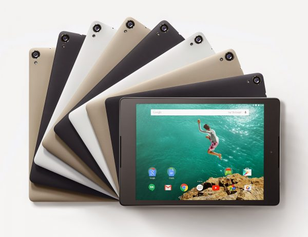 HTC Nexus 9 Press Promo Image