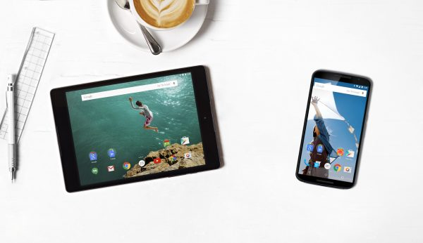Nexus 9 and Nexus 6