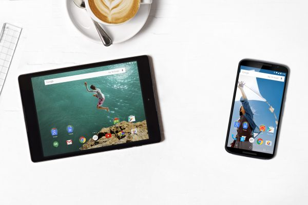 Nexus 9 and Nexus 6