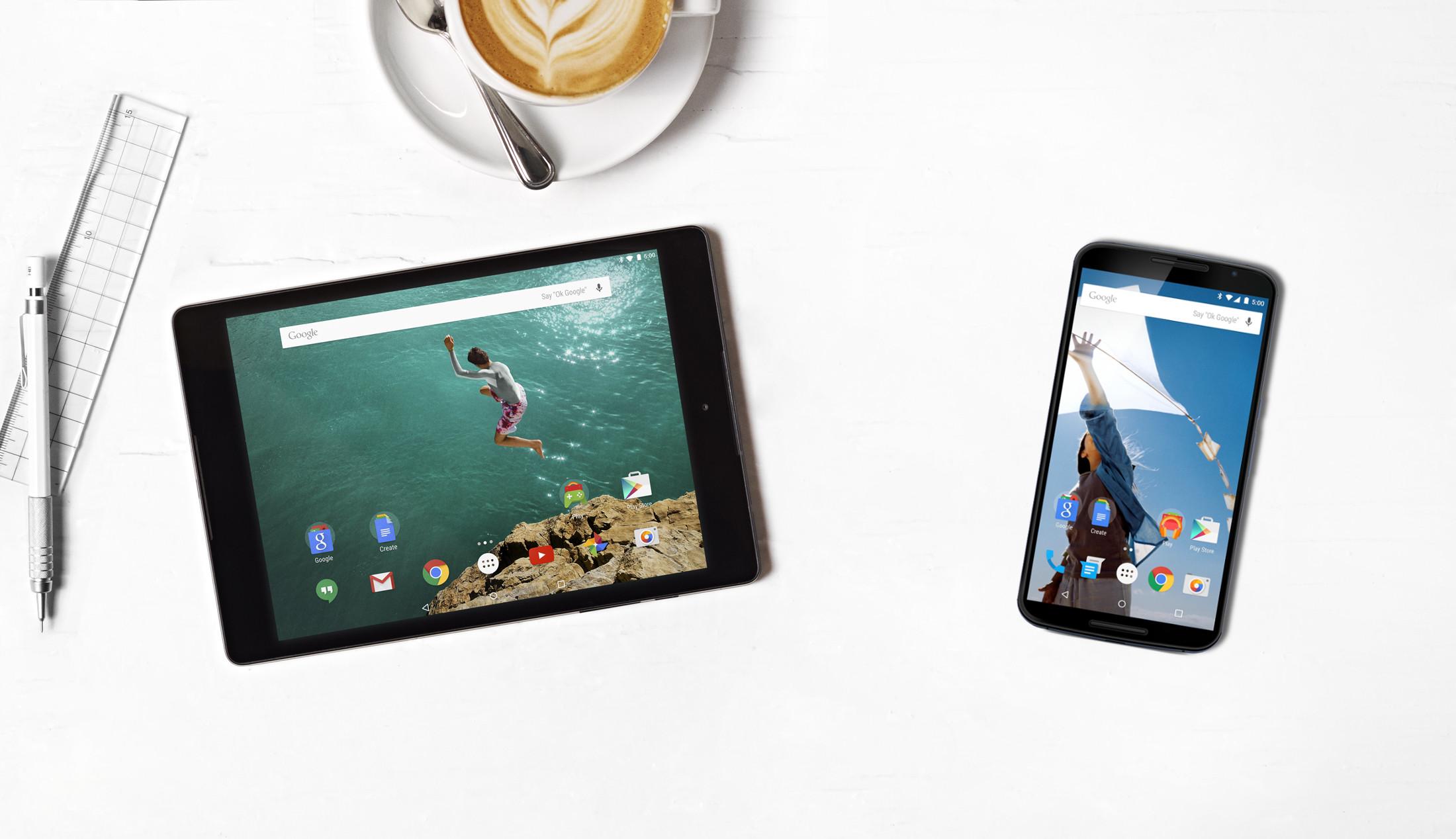 Dynamic Duo: The Nexus 6 and Nexus 9