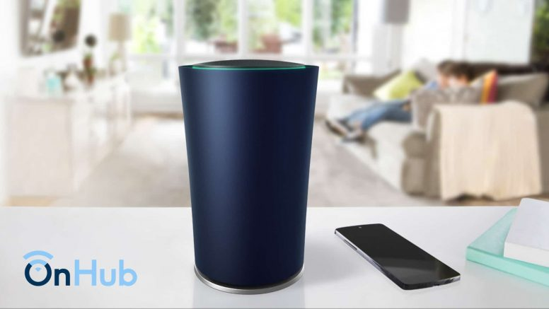 Google Unveils 'OnHub' Smart WiFi Router